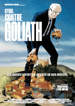 Affiche Cyril contre Goliath